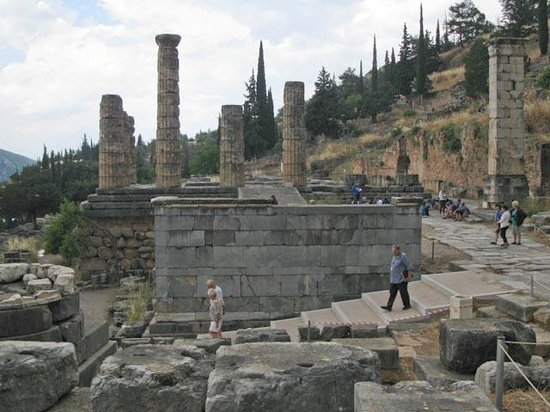 Temple of Apollo: Temple Ruins