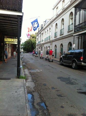 Place d'Armes Hotel: Tour Group