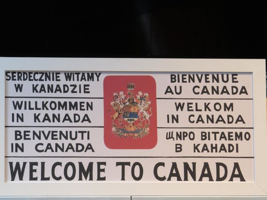 Canadian Museum of Immigration at Pier 21: Welcome