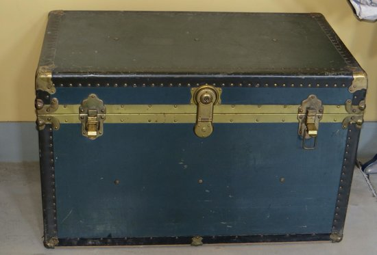 Canadian Museum of Immigration at Pier 21: Steamer Trunk