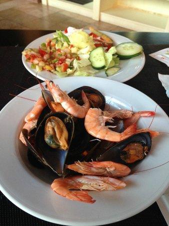 Barcelo Punta Umbria Beach Resort: lovely seafood