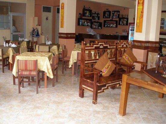 Taypikala Hotel Machupicchu: Lobby/dining room