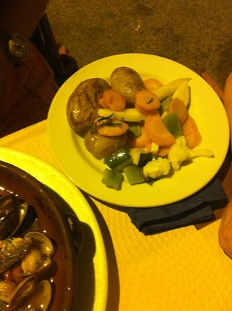 Restaurante Brisa do Rio : Legumes salteados