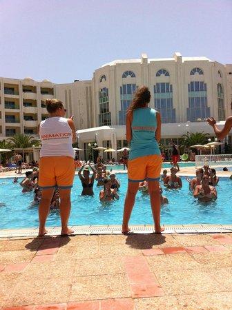 El Mouradi El Menzah: aqua gym