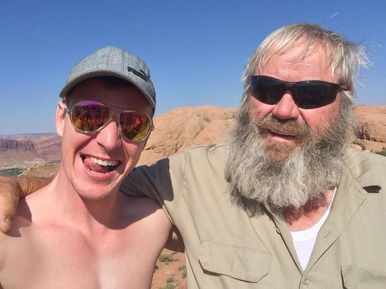 Dan Mick's Guided Jeep Tours: Me and Dan!