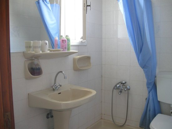 Arodamos Apartments and Studios : baño
