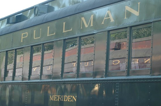 Essex Steam Train & Riverboat: The Meriden Train Car