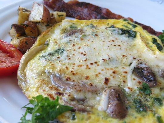 Woolverton Inn: Breakfast frittata