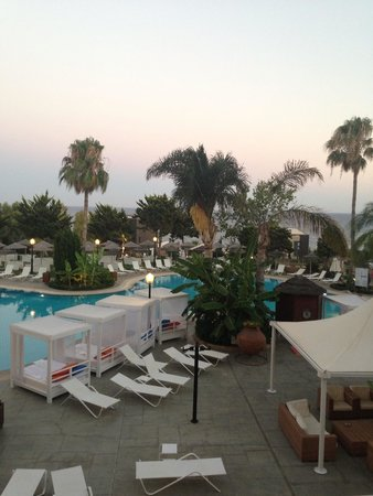 Atlantica Bay Hotel: Taken from the balcony