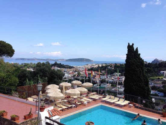 Don Pedro Hotel: View from the terrace