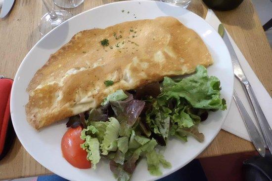 La Creperie : Omelette patate