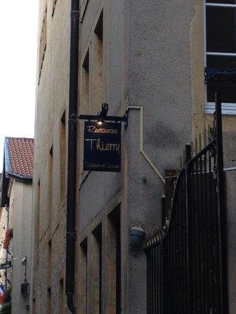 Restaurant Thierry Saveurs et Cuisine : Entrance