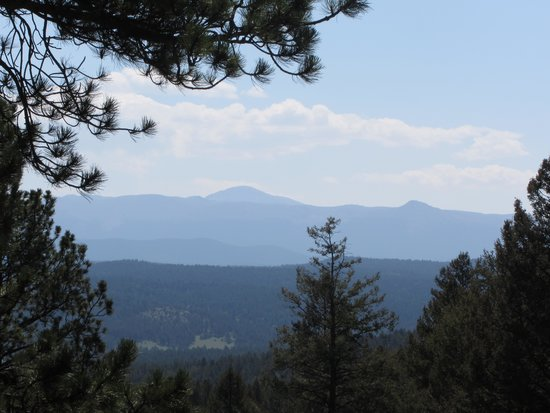 Florissant Fossil Beds National Monument : view from the Hans trail