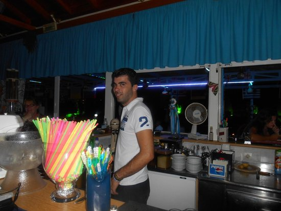 Sunlight Studios: Greek god George the barman