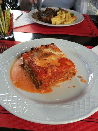 Restaurante El Patio : Lasagne. Delicious!
