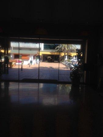 Hotel Mediterraneo Benidorm : Desde la recepcion