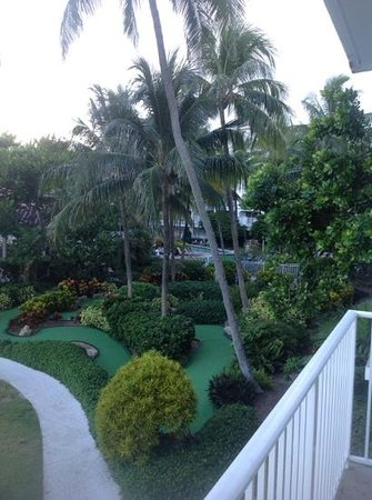 Lago Mar Resort and Club : mini golf great for the kids!