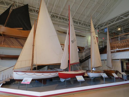 Maritime Museum of the Atlantic : Local sailing ship types