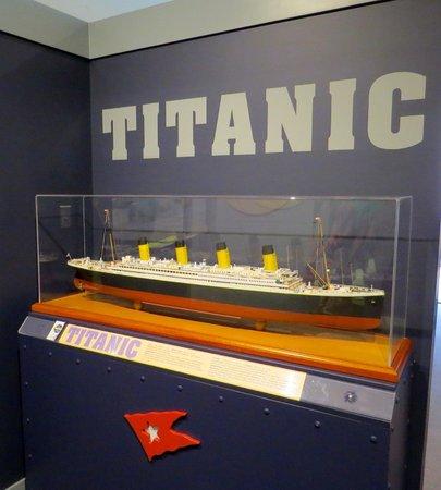 Maritime Museum of the Atlantic : Titanic Display