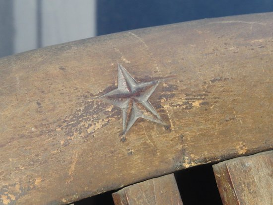 Maritime Museum of the Atlantic : White Star Line Symbol on the Deck Chair