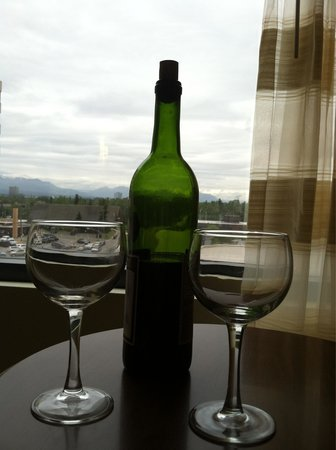 Anchorage Marriott Downtown: Last night in Anchorage
