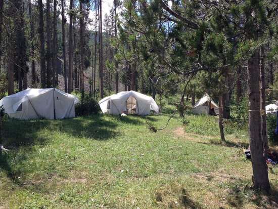 A-OK Corral / Horse Creek Ranch: camp! beautiful