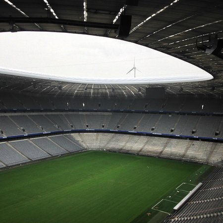 Allianz Arena: from the inside