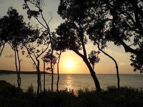 Paradisus Rio de Oro Resort & Spa: Amazing sunset this time of year!