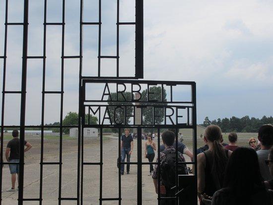 SANDEMANs NEW Berlin Tours: Walking through the gates at Sachsenhausen