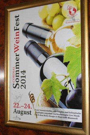 Cordial Golf & Wellness Hotel Reith: Veranstaltungshinweis