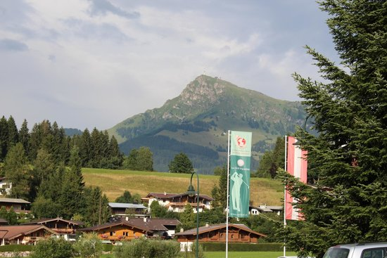 Cordial Golf & Wellness Hotel Reith: Ausblick auf das Kitzbüheler Horn