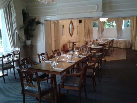 The Pinnacle: Part of the dining area.