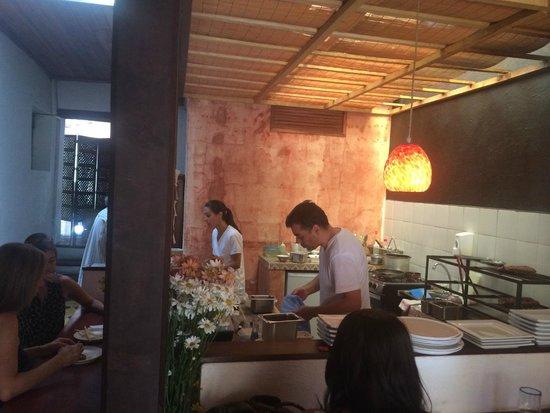 Izakaya : Open kitchen