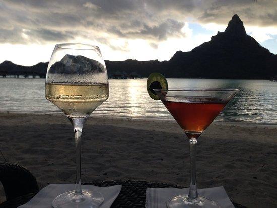InterContinental Bora Bora Resort & Thalasso Spa: Best bartender