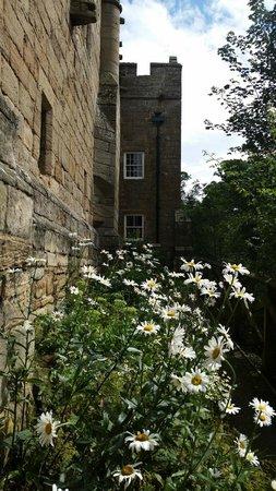 Aydon Castle: back of castle