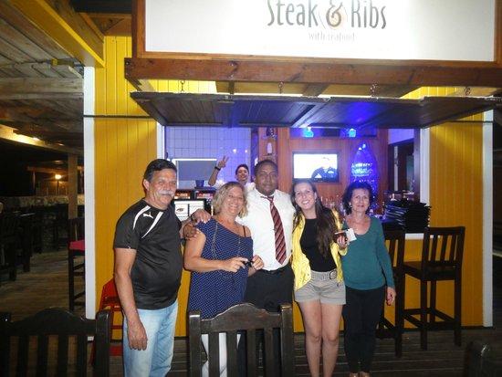 Steak & Ribs: Despedida de Curaçao