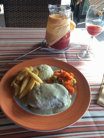 El Mastil Restaurante: Fillet steak with roquefort