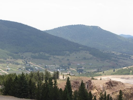 American Eagles Overlook and Historic Mine: View from the top