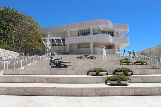 Centro Getty: Fachada do Getty Center