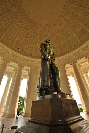 Jefferson Memorial - Interior of Rotunda