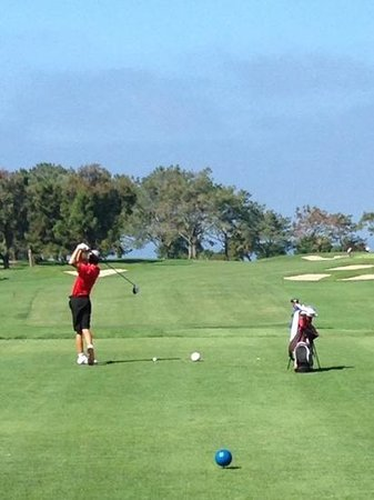 Pacific Terrace Hotel: Torrey Pines Golf Course is 20 minutes away