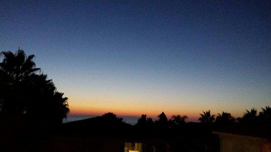 Villaggio Torre Ruffa Robinson: tramonto