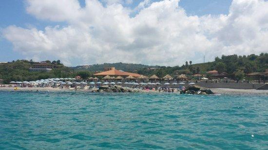 Villaggio Torre Ruffa Robinson: vista dal mare