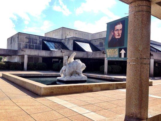 Kansas Museum of History: The museums exterior