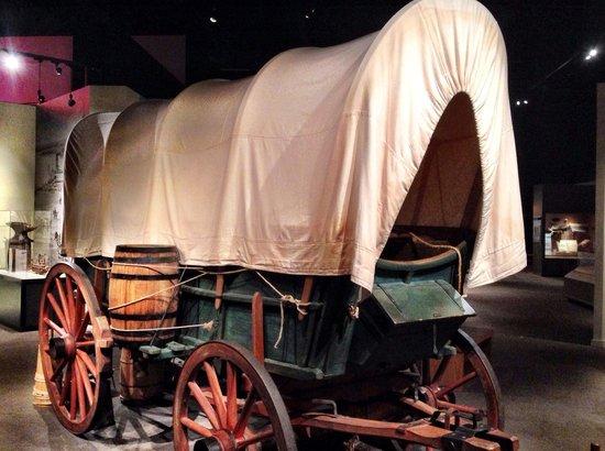 Kansas Museum of History: Covered wagon