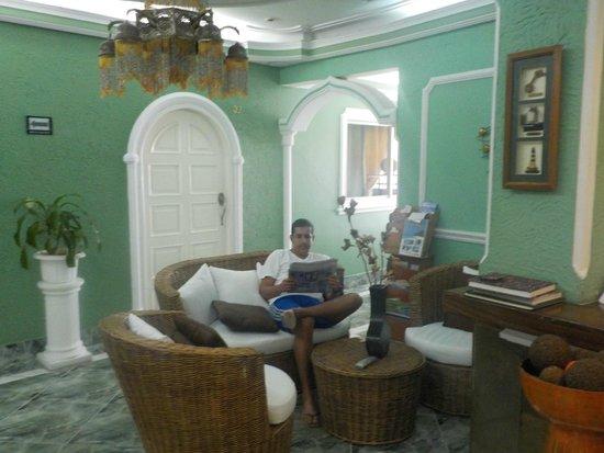 San Andres Noblehouse Hotel: Na recepção