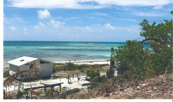 Bahia Honda State Park and Beach: Bath house, there are several. Ocean side