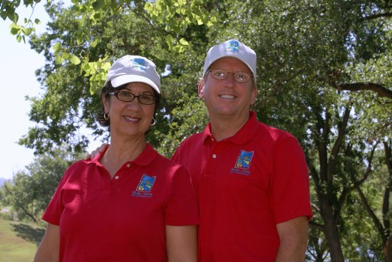 Bella Vista Bed and Breakfast on Lake Travis: Mary & Andy - your hosts
