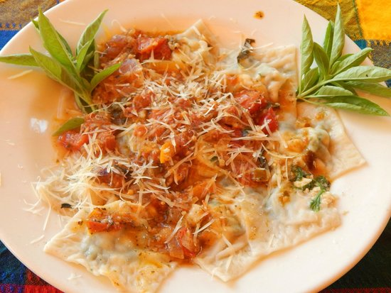 Eva`s Brickhouse: Made to order from scratch raviolis, the best there is only ay Eva's Brickhouse