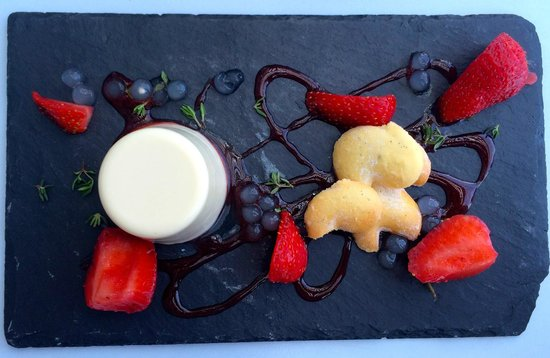 Oxo Tower Restaurant, Bar and Brasserie: Panna Cotta